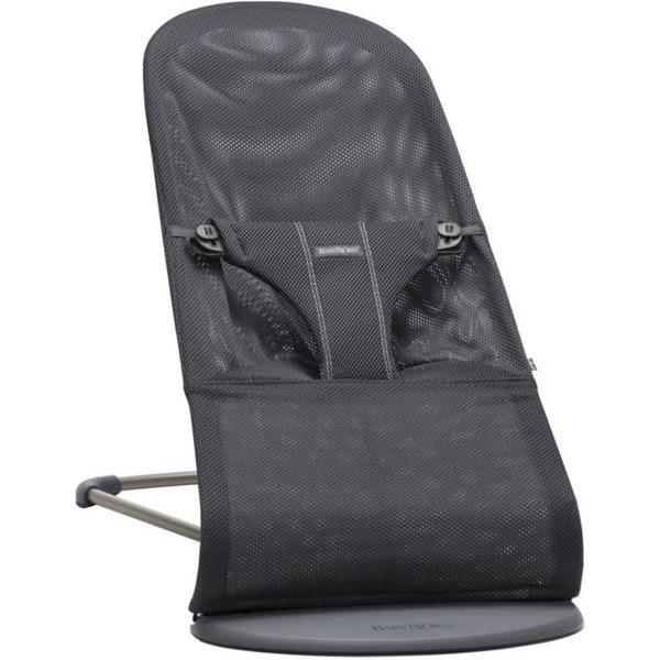 BabyBjorn Bouncer Bliss Anthracite Mesh Bērnu šūpuļkrēsls 006013