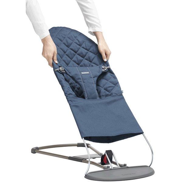 BabyBjorn Pārvalks šūpuļkrēsliņam Midnight Blue 012015