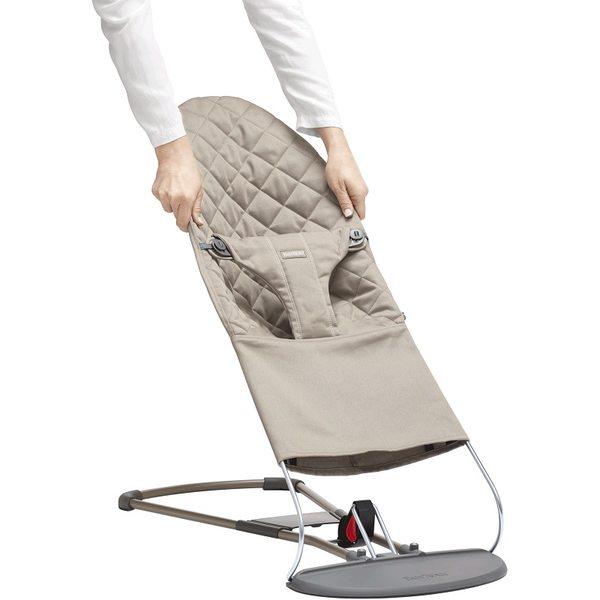 BabyBjorn Pārvalks šūpuļkrēsliņam Sand Grey 012017