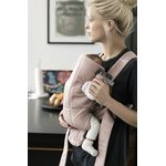BabyBjorn Ķengursoma Baby Carrier Mini Dusty Pink, Cotton 021014