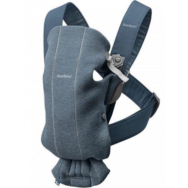 BabyBjorn Ķengursoma Baby Carrier Mini Dove blue, 3D Jersey 021031