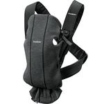 BabyBjorn Ķengursoma Baby Carrier Mini Charcoal Grey, 3D Jersey 021076