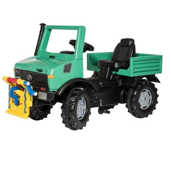 Rolly Toys Mašīna ar pedāļiem RollyUnimog ar viņču, 038206