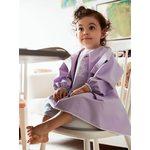 BabyBjorn Krekliņš ēšanai un spēlēšanai Long Sleeve Bib Purple 044382
