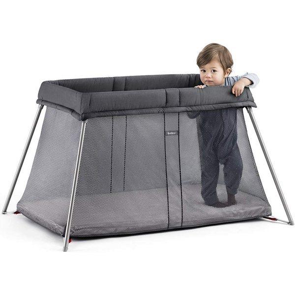 BabyBjorn Ceļojumu gulta un manēža Travel Cot Eesy Go Anthracite 045013