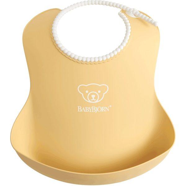 BabyBjorn Mīksts priekšautiņš Soft Bib Powder Yellow 046366