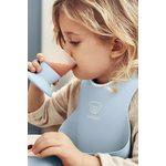 BabyBjorn Mīksts priekšautiņš Soft Bib Powder Blue 046367