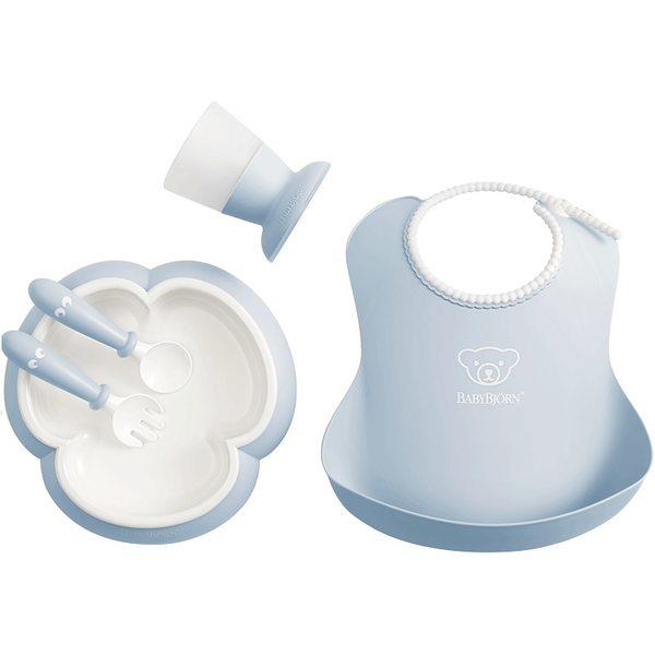 BabyBjorn Baby feeding set Powder Blue Komplekts barošanai 070067
