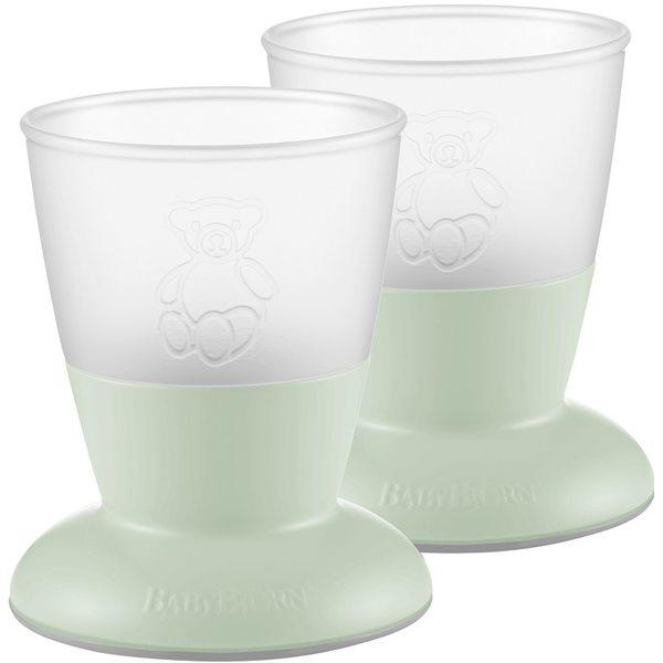 BabyBjorn Bērnu krūzes Baby Cup Powder green 072161