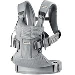 BabyBjorn Ķengursoma Baby Carrier One Air Silver Mesh 098004