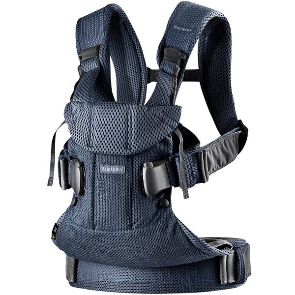 BabyBjorn Ķengursoma Baby Carrier One Air Navy Blue Mesh 098008