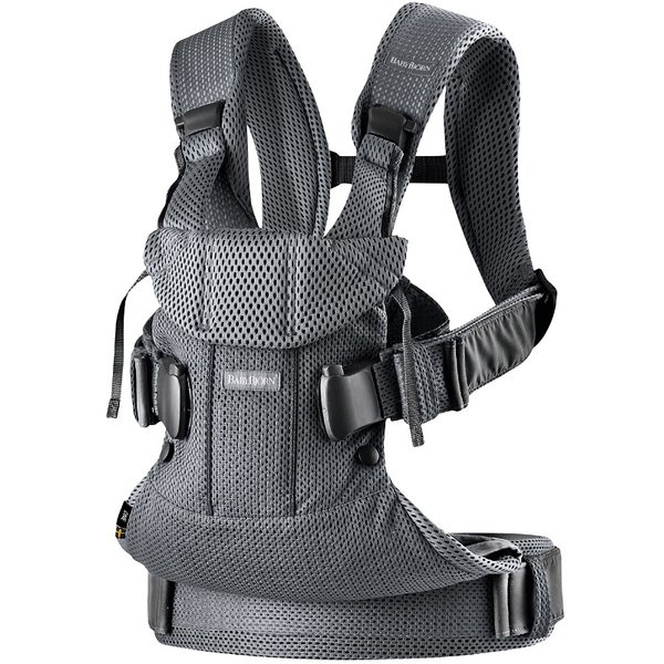 BabyBjorn Ķengursoma Baby Carrier One Air Anthracite Mesh 098013