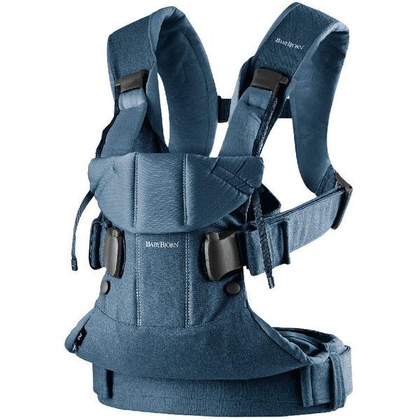 BabyBjorn Ķengursoma Baby Carrier One Denim/Midnight Blue 098051