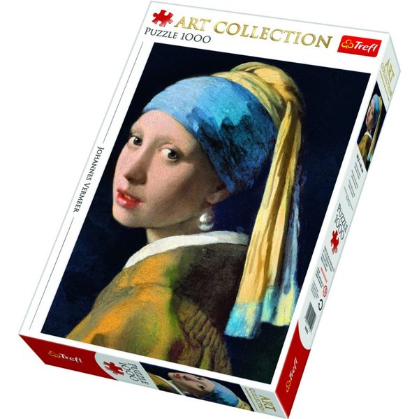 Trefl Puzzle Girl With A Pear Earring 1000, 10522T