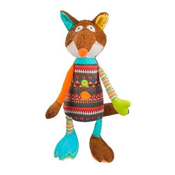 BabyOno Rotaļlieta-spilventiņš Funny Fox, 1244
