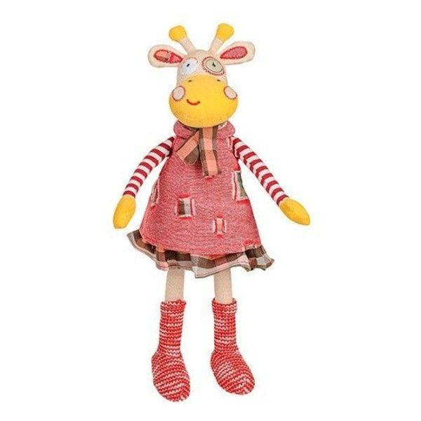 BabyOno Mīksta rotaļlieta Žirafe  kleitiņā, 1252
