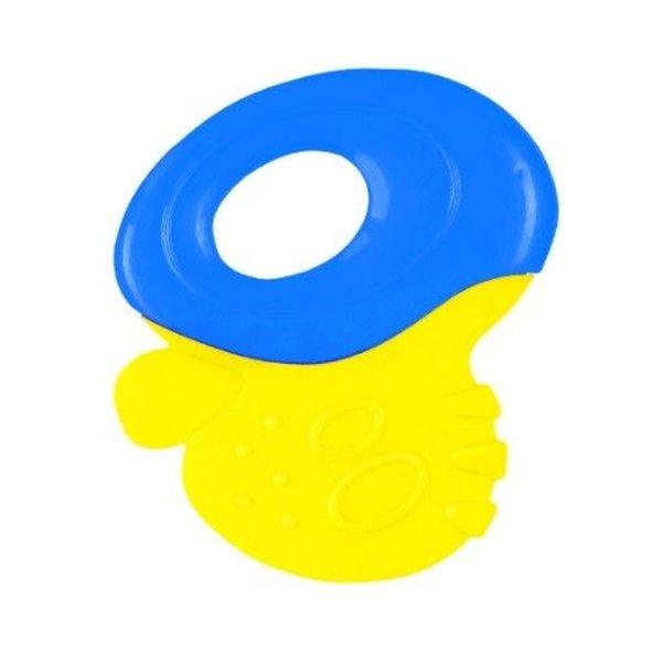 BabyOno Zobu riņķis, blue/yellow, 1383
