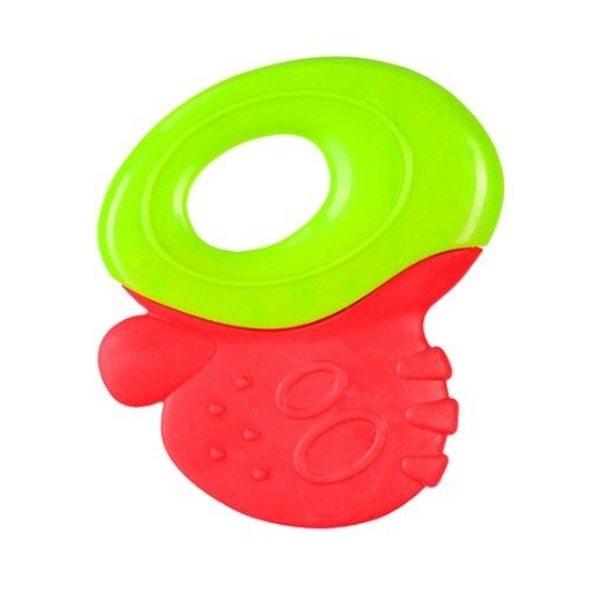 BabyOno Zobu riņķis, green/red, 1383