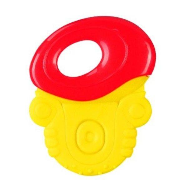 BabyOno Zobu riņķis, red/yellow, 1383