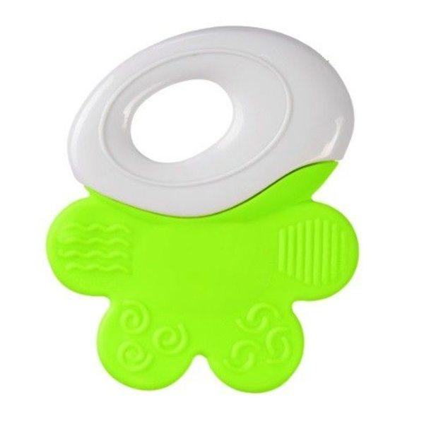 BabyOno Zobu riņķis, white/green, 1383