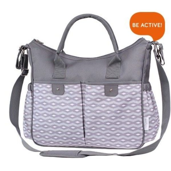 BabyOno Soma ratiem So City, grey, 1423