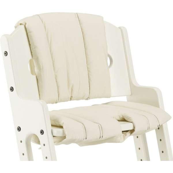 BabyDan Spilventiņi Comfort cushion Danchair barošanas krēslam, white, 2438-0091