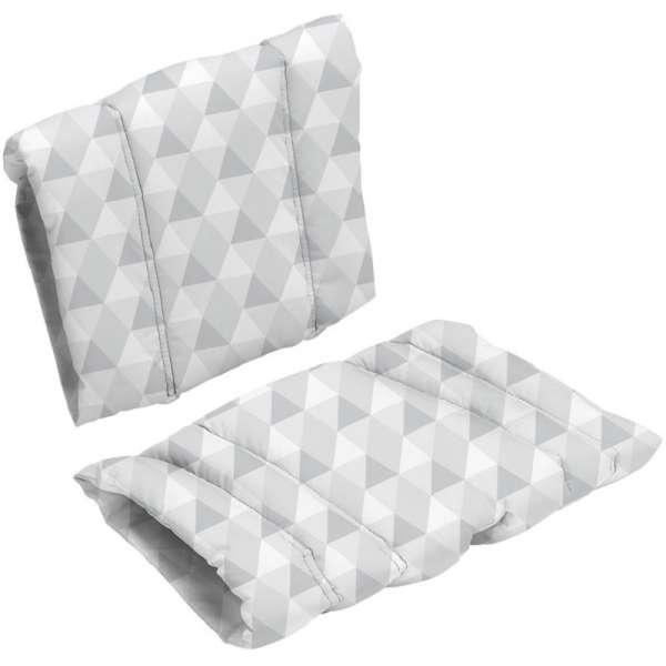 BabyDan Spilventiņi Comfort cushion Danchair barošanas krēslam, baby grey, 2438-2920