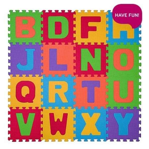"BabyOno Puzzle-paklājiņš ""Burti"" 16 gab., 280"