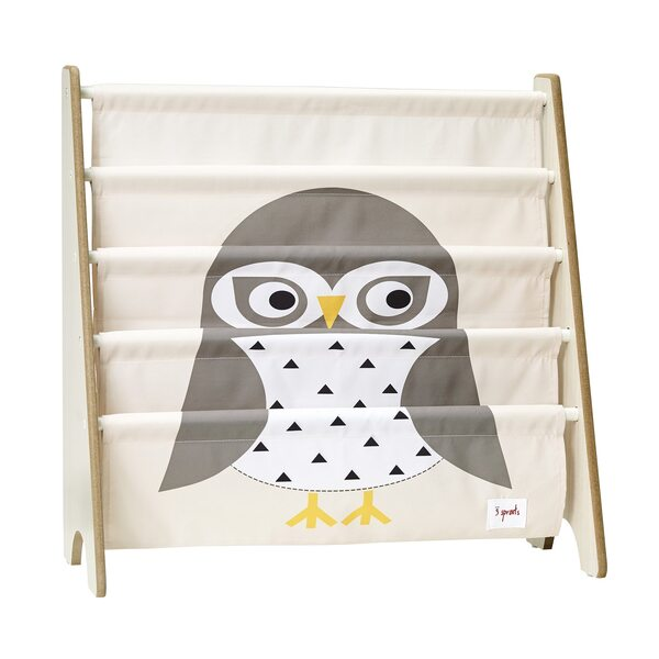 3 Sprouts Book Rack Grāmatu plaukts Owl