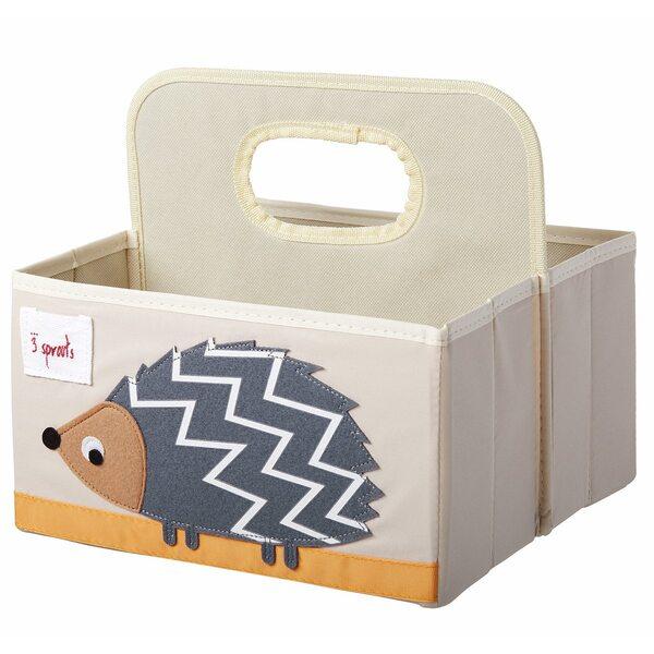3 Sprouts Diaper Caddy Autiņbiksīšu organizators Hedgehog