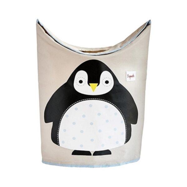 3 Sprouts Laundry Hamper Veļas grozs Penguin