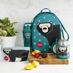 3 Sprouts Lunch Bag Pusdienu soma - mugursoma Bear