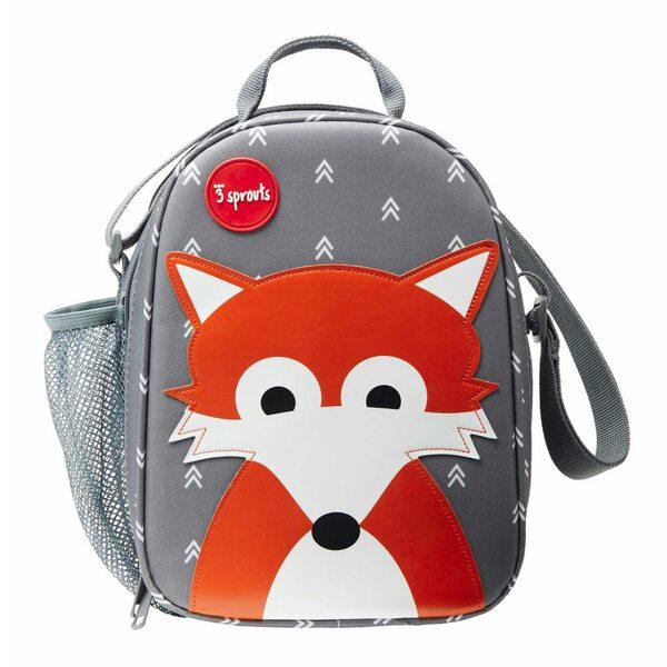 3 Sprouts Lunch Bag Pusdienu soma - mugursoma Fox