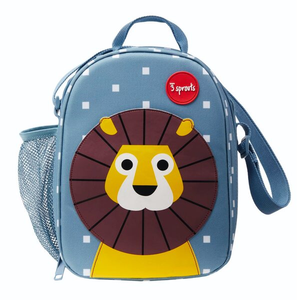 3 Sprouts Lunch Bag Pusdienu soma - mugursoma Lion