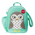 3 Sprouts Lunch Bag Pusdienu soma - mugursoma Owl