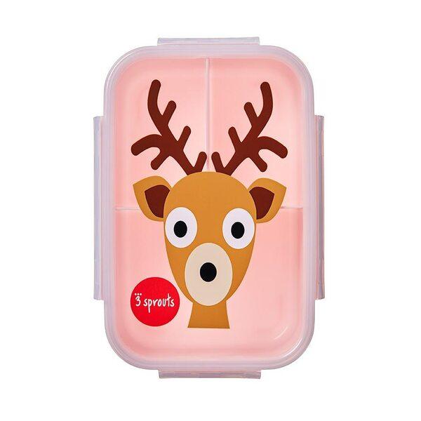 3 Sprouts Lunch Box Pusdienu kastīte Deer