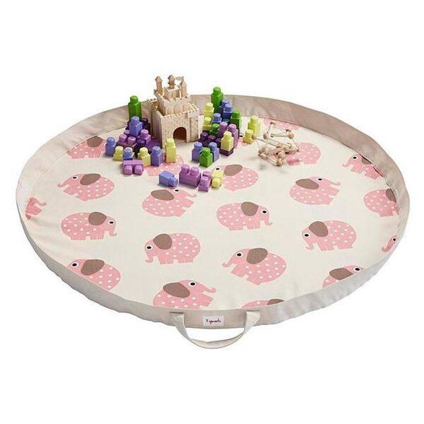3 Sprouts Play Mat Bag Bērnu spēļu paklājs - soma Elephant