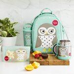 3 Sprouts Stainless Steel Food Jar Termo konteineris Owl