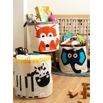 3 Sprouts Storage Bin Grozs rotaļlietām Fox