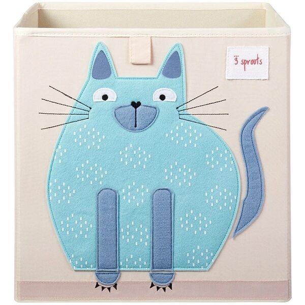 3 Sprouts Storage Box Mantu kaste Cat