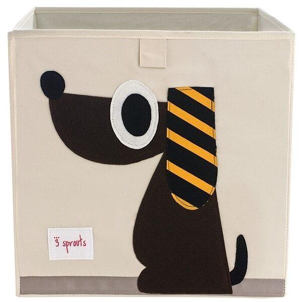 3 Sprouts Storage Box Mantu kaste Dog