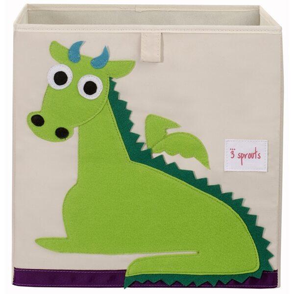 3 Sprouts Storage Box Mantu kaste Dragon