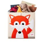 3 Sprouts Storage Box Mantu kaste Fox