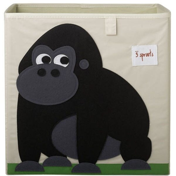 3 Sprouts Storage Box Mantu kaste Gorilla