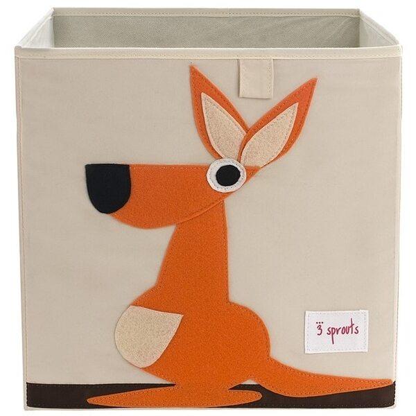 3 Sprouts Storage Box Mantu kaste Kangaroo