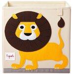 3 Sprouts Storage Box Mantu kaste Lion