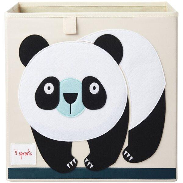 3 Sprouts Storage Box Mantu kaste Panda
