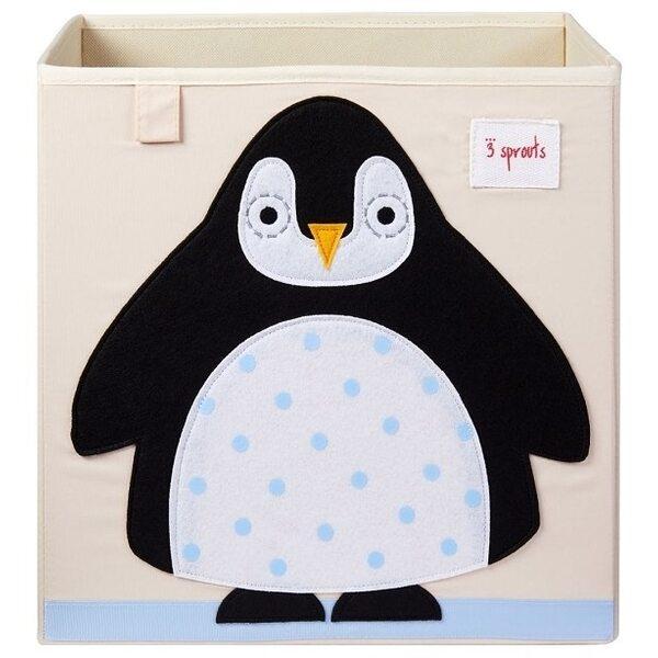 3 Sprouts Storage Box Mantu kaste Penguin