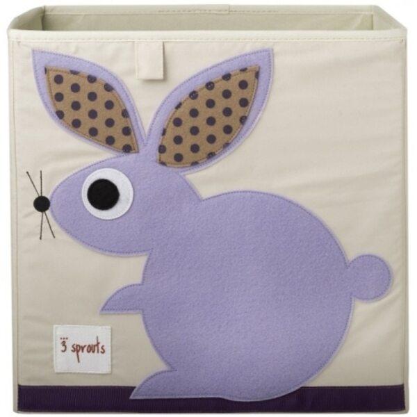 3 Sprouts Storage Box Mantu kaste Rabbit