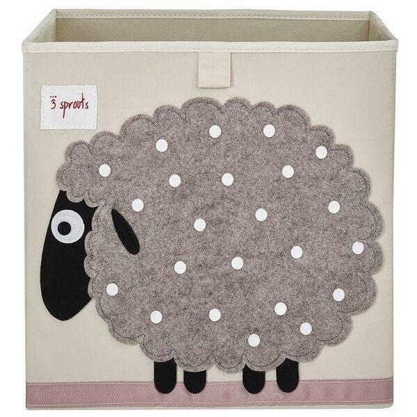 3 Sprouts Storage Box Mantu kaste Sheep